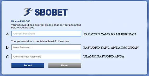 Cara cepat melakukan login sbobet