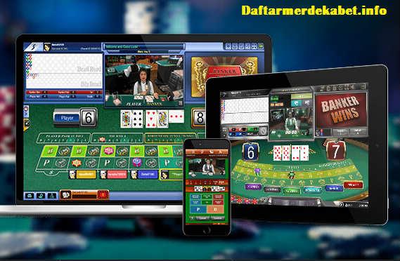 Casino yang ditawarkan sbobet